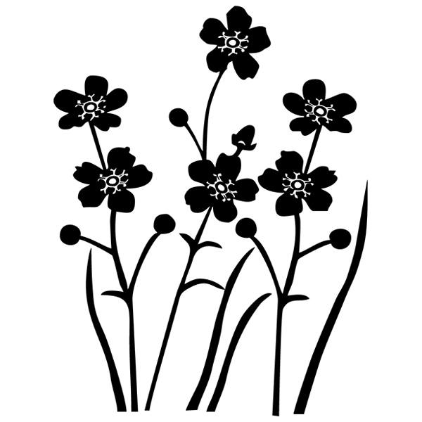 Wandtattoos: Floral 165