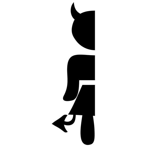Wandtattoos: Frauen Service