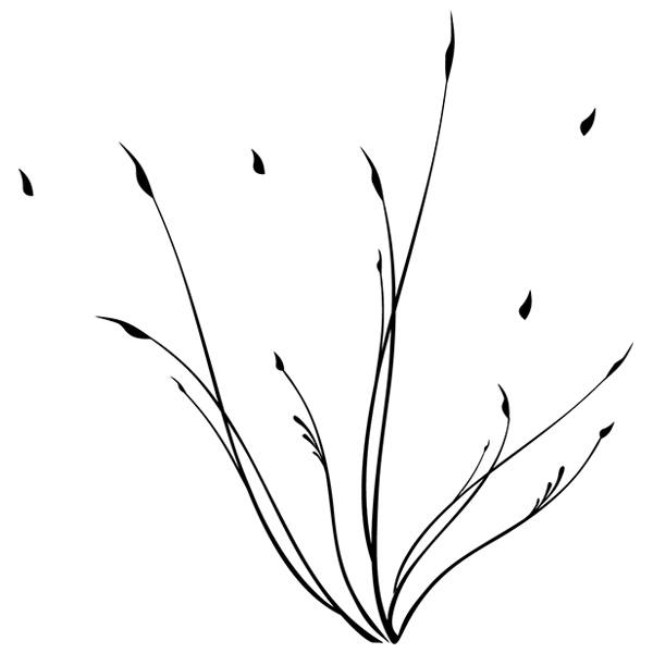 Wandtattoos: Floral 172