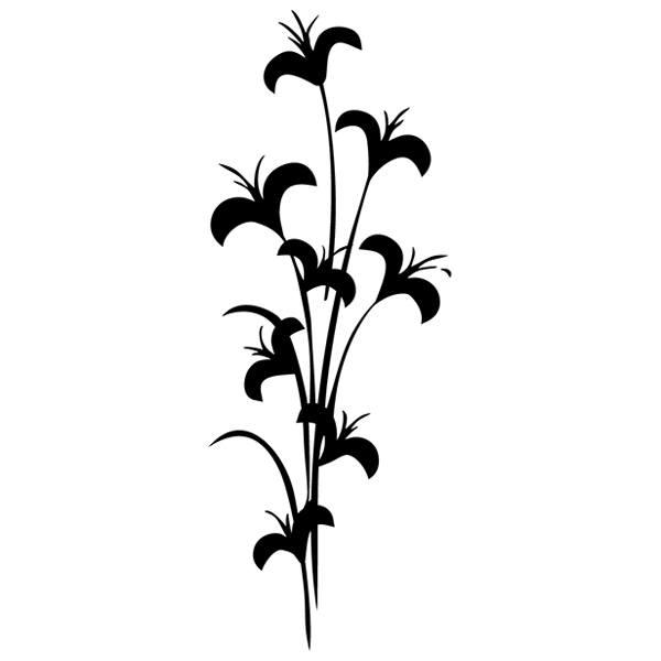 Wandtattoos: Floral 174