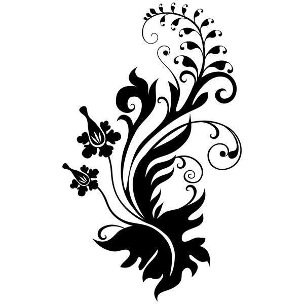 Wandtattoos: floral 267