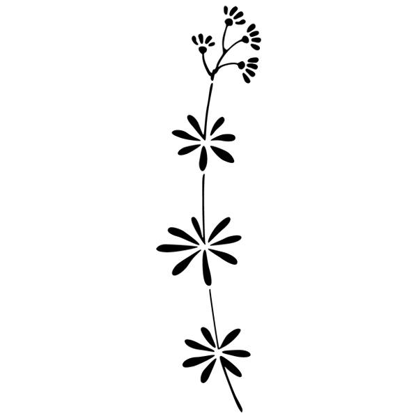 Wandtattoos: Floral 348