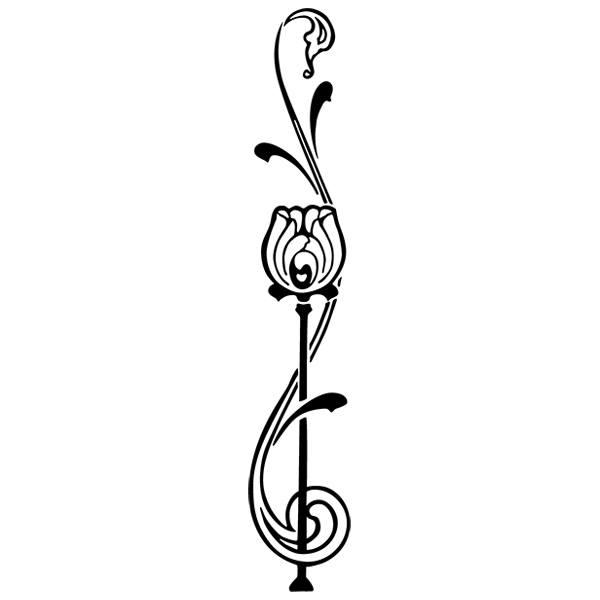 Wandtattoos: Floral 378