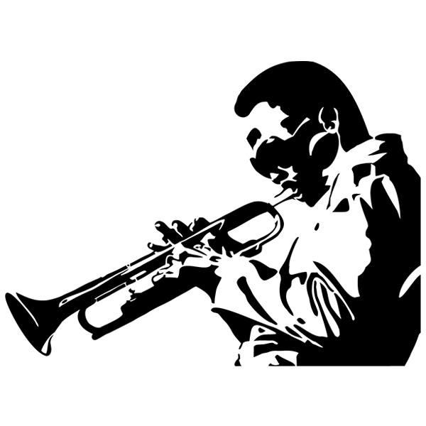 Wandtattoos: Trompeter