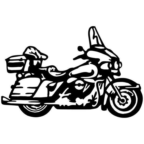 Wandtattoos: Harley