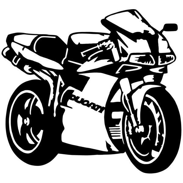 Wandtattoos: Ducati