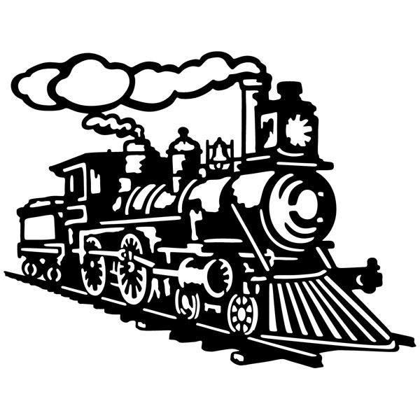 Wandtattoos: Lokomotive