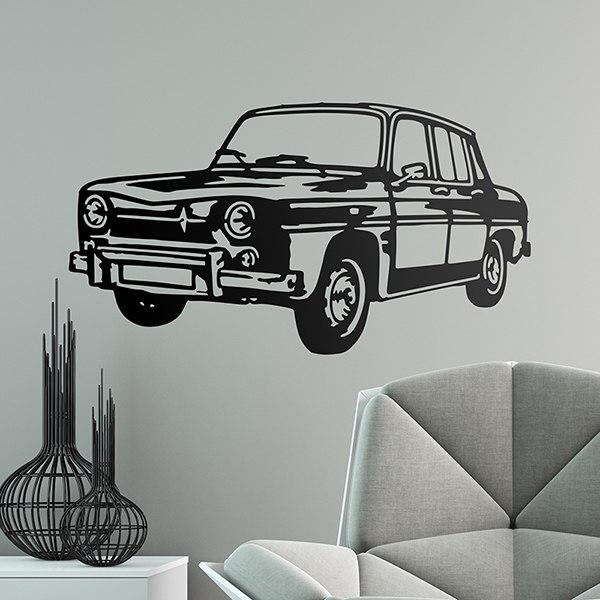 Wandtattoos: Renault 8