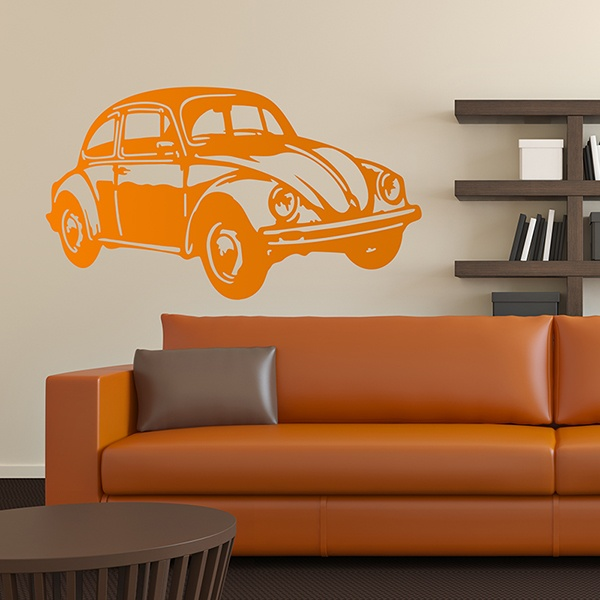 Wandtattoos: VW Beetle