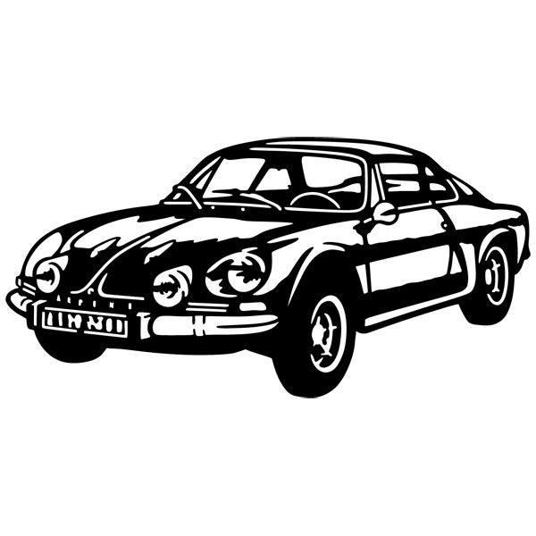 Wandtattoos: Renault Alpine