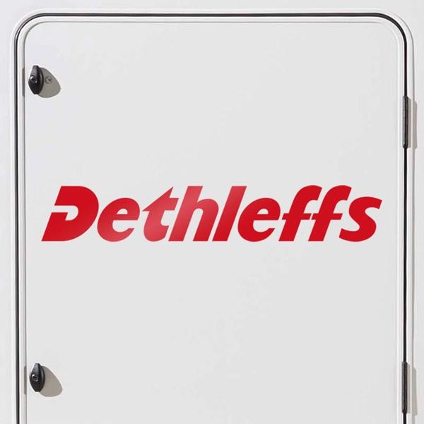 Aufkleber: Dethleffs 1