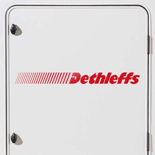 Aufkleber: Dethleffs 2