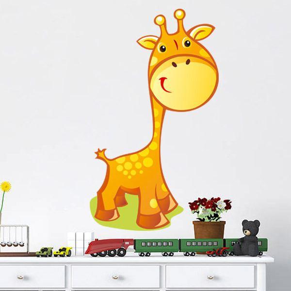 Kinderzimmer Wandtattoo: Giraffe