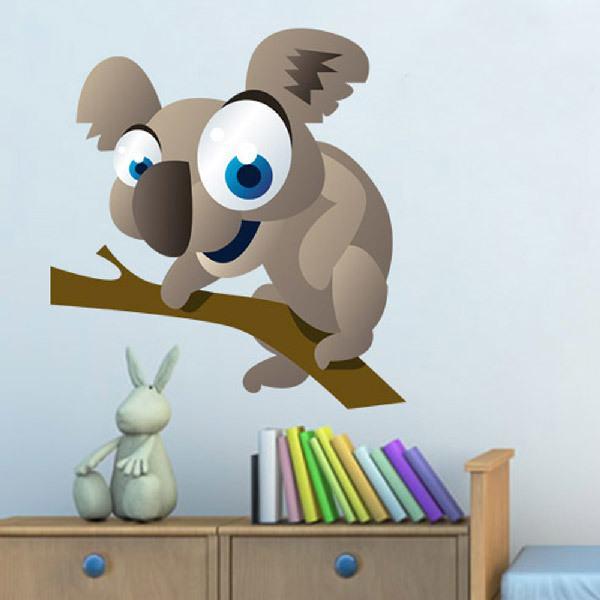 Kinderzimmer Wandtattoo: Koala