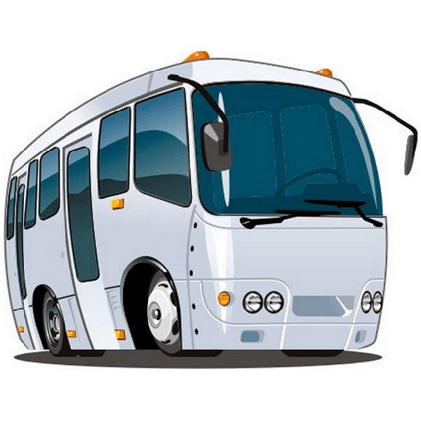 Kinderzimmer Wandtattoo: Bus