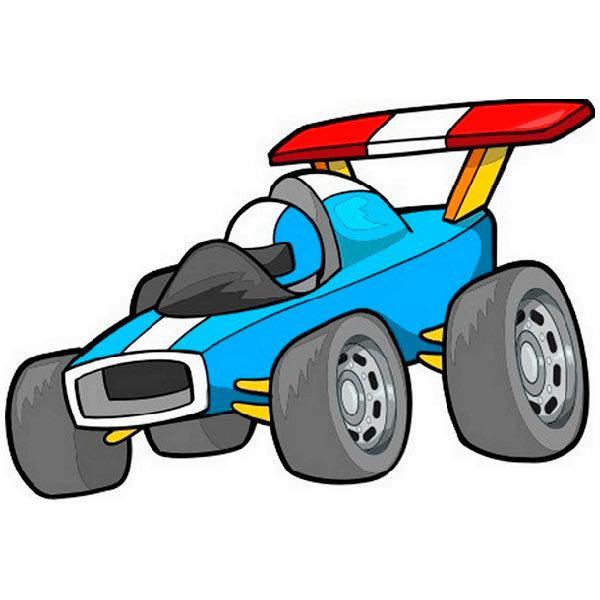 Kinderzimmer Wandtattoo: Car 1