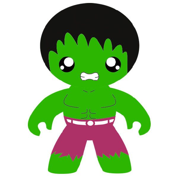 Kinderzimmer Wandtattoo: Grüne Mann