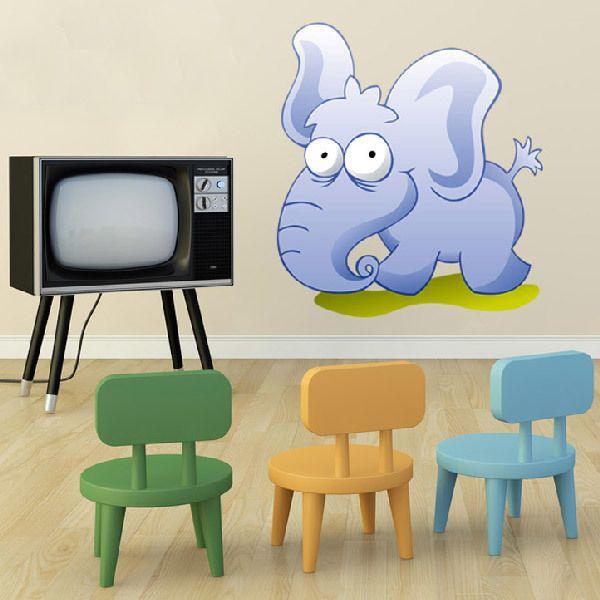 Kinderzimmer Wandtattoo: Elefant