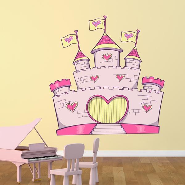 Kinderzimmer Wandtattoo: Castle 2