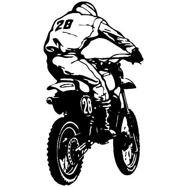 Wandtattoos: moto2