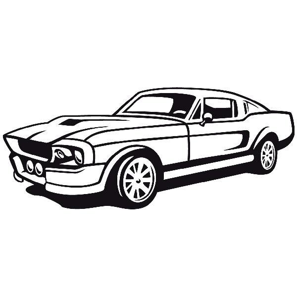 Wandtattoos: Car36