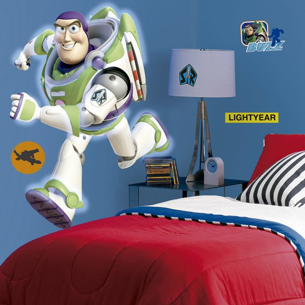 Kinderzimmer Wandtattoo: Buzz Lightyear Riesen