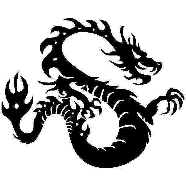 Aufkleber: Dragon MK 2
