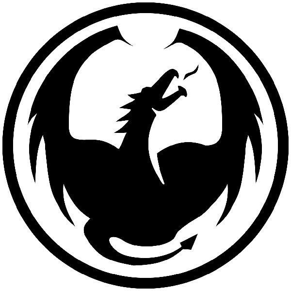 Aufkleber: Dragon MK 4