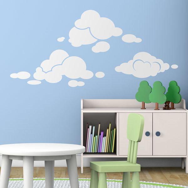 Wandtattoos: Kit Wolken