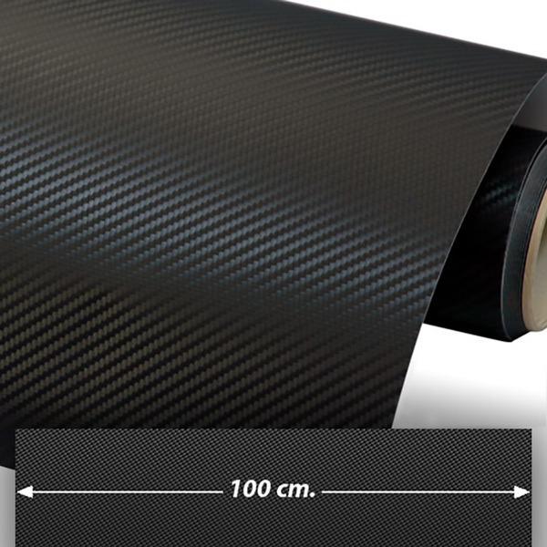Aufkleber: Carbon-Folie 100cm