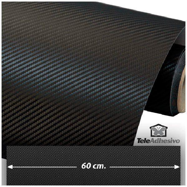 Aufkleber: Carbon-Folie 60cm