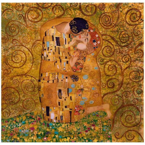 Fototapeten: Klimt kiss