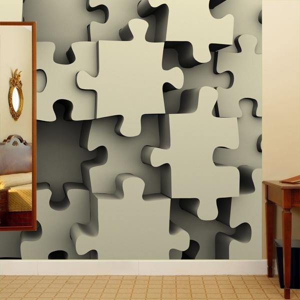 Fototapeten: Puzzle 0