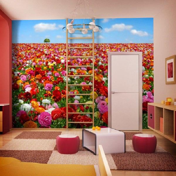 Fototapeten: Blume Feld 0