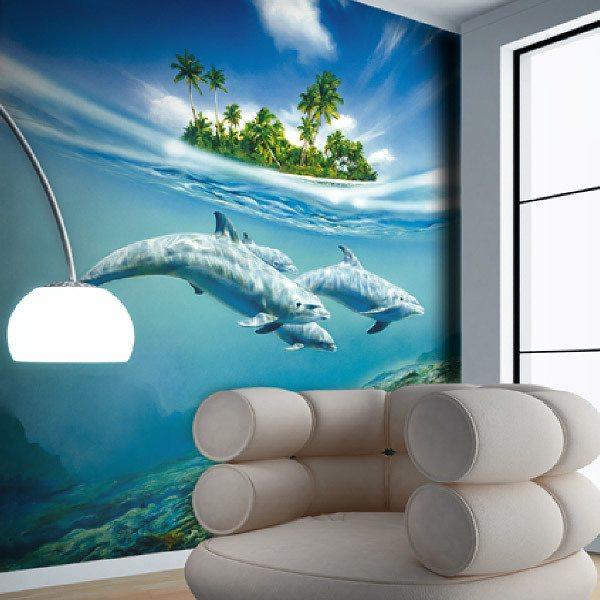 Fototapeten: Dolphins1