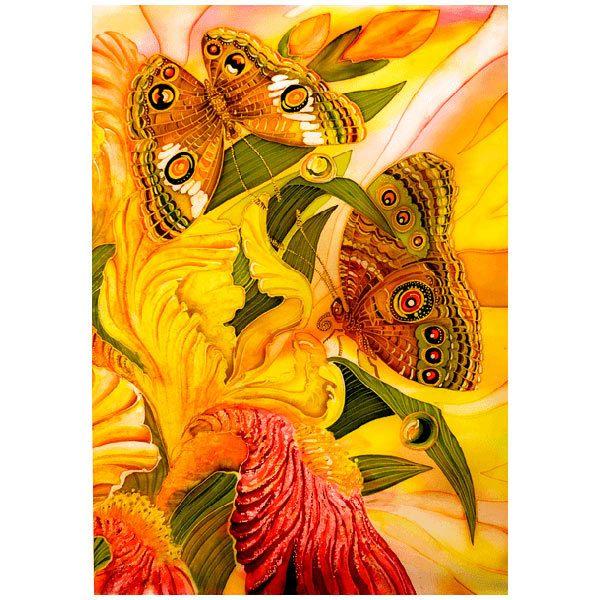 Fototapeten: Schmetterlinge Feld