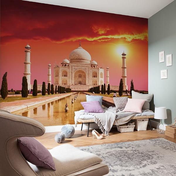 Fototapeten: Taj Mahal 0
