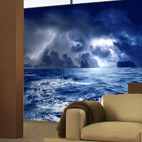 Fototapeten: Sturm auf dem Meer 0