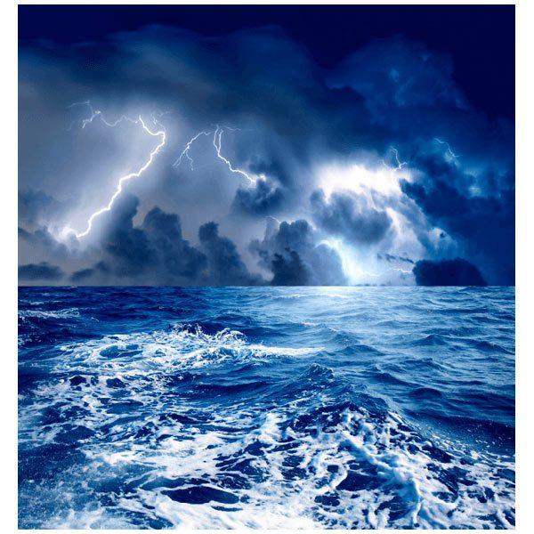 Fototapeten: Sturm auf dem Meer