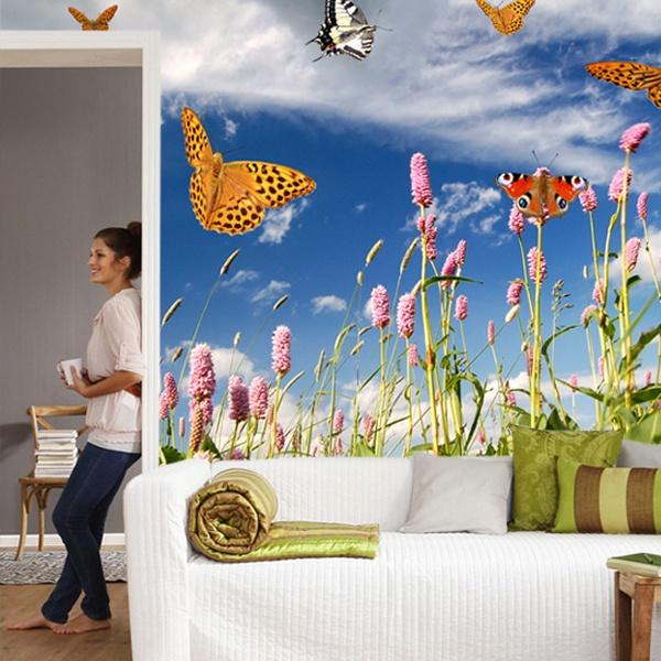 Fototapeten: Schmetterlinge 0