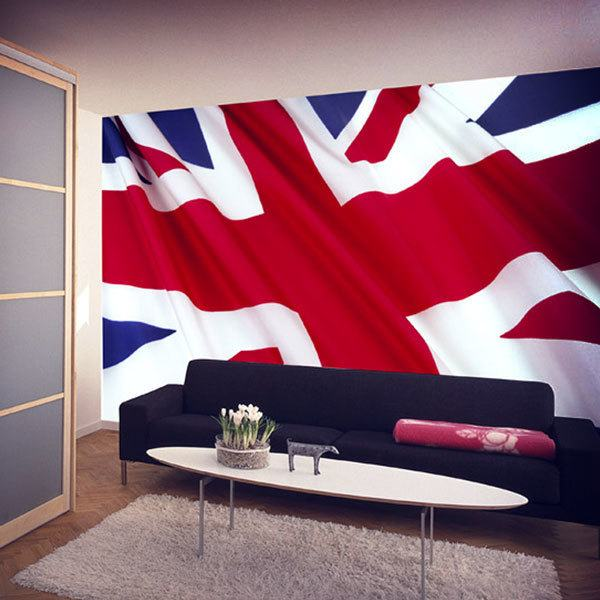 Fototapeten: British flag  0