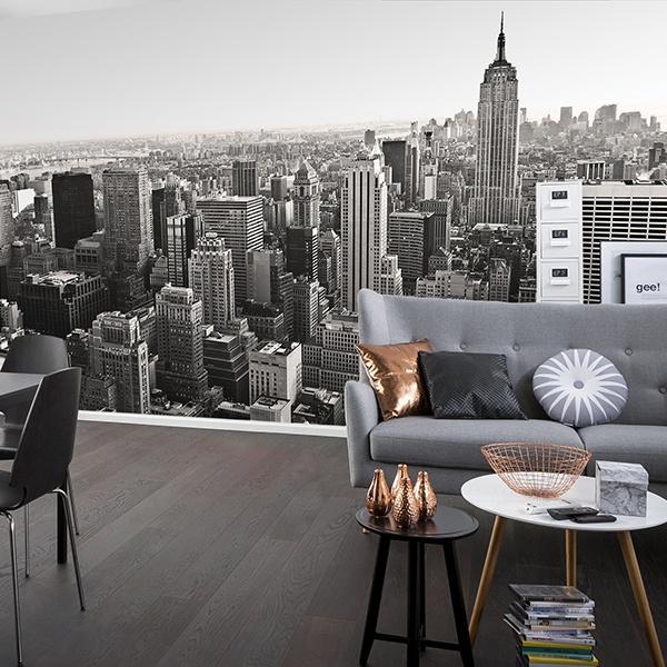 Fototapeten: Aerial view of New York 0