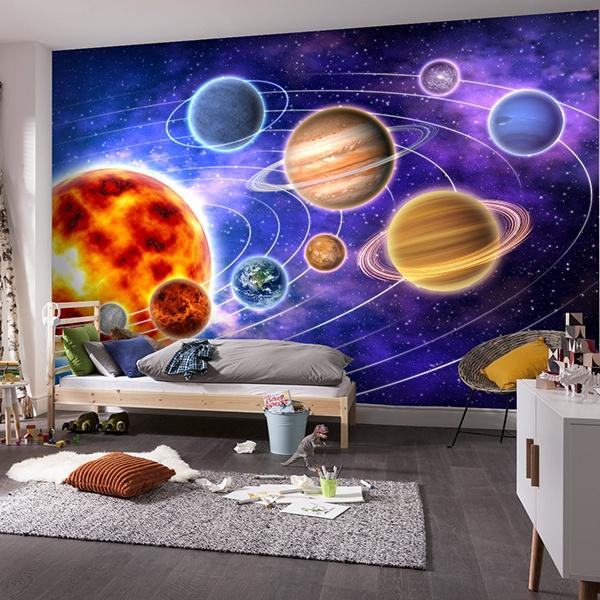 Fototapeten: Sonnensystem