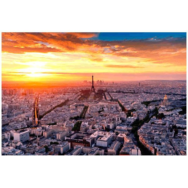 Fototapeten: Paris at sunset
