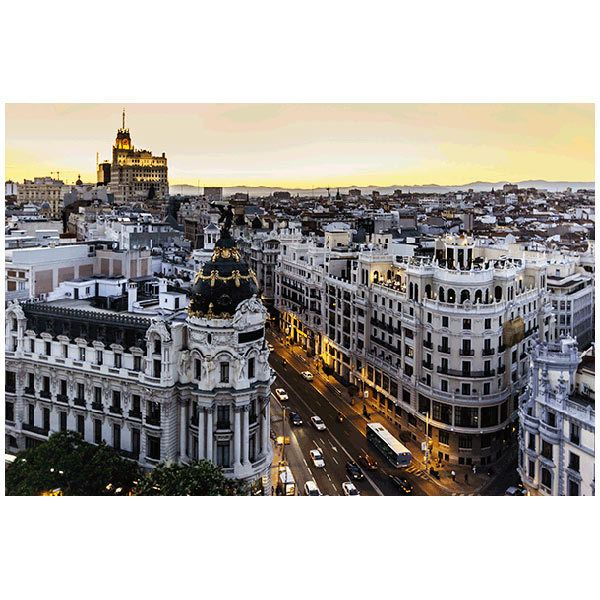 Fototapeten: Madrid Gran Via