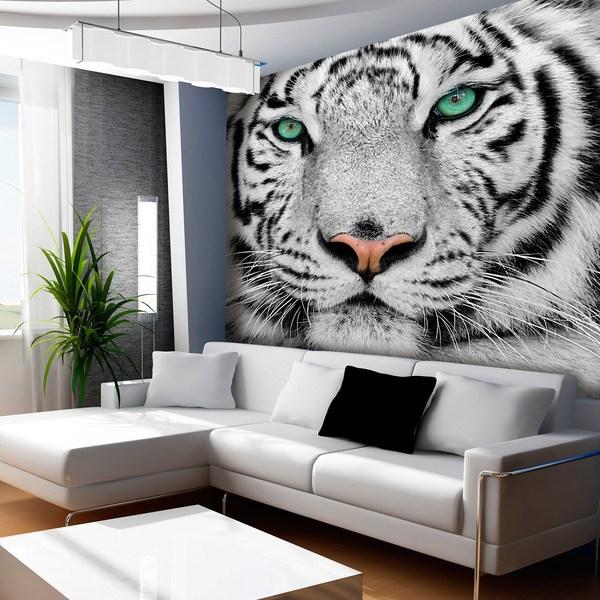 Fototapeten: White Tiger 0