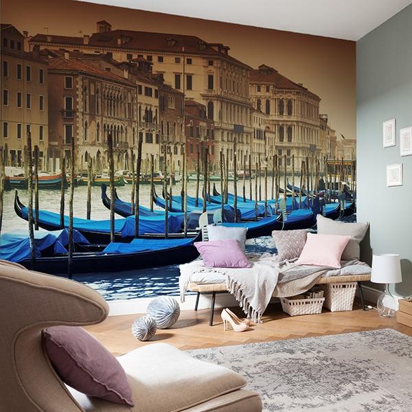 Fototapeten: Gondolas Venecianas 0