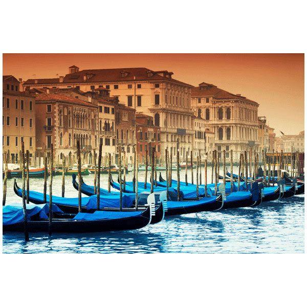Fototapeten: Gondolas Venecianas
