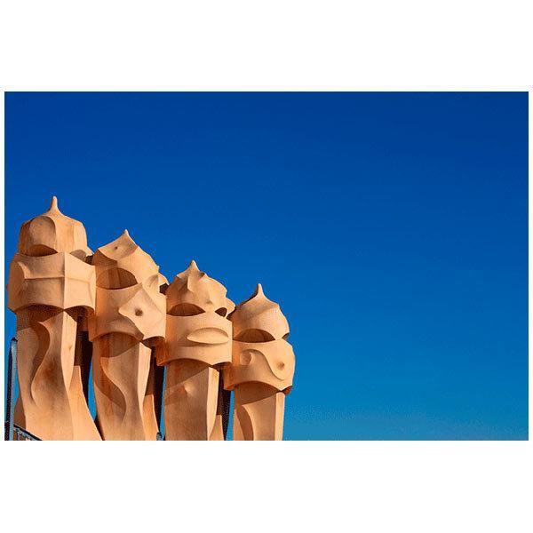 Fototapeten: Gaudi Kamine