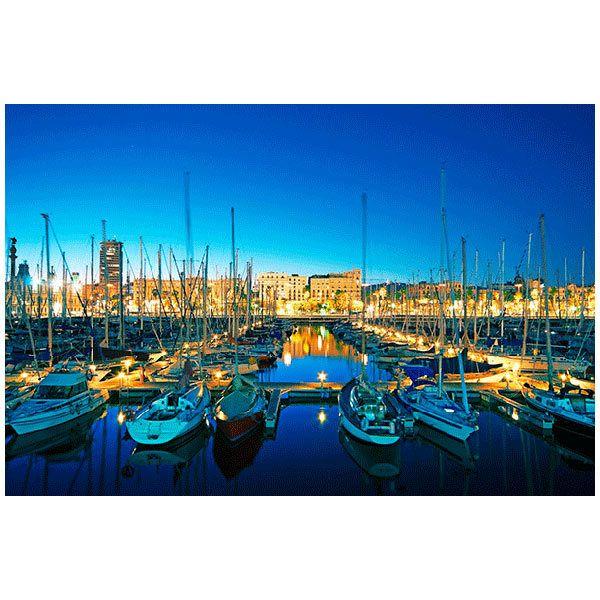 Fototapeten: Puerto Barcelona